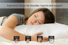 Load image into Gallery viewer, Organic Side Sleeper Pillow - Queen