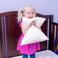 Load image into Gallery viewer, Organic Cotton Cover Toddler Pillow