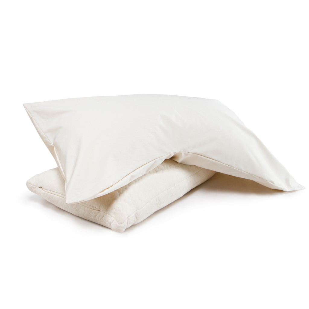 Organic Cotton Pillowcase for Side Sleeper Pillows