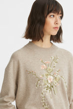 Load image into Gallery viewer, Embroidered cashmere jumper