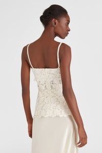 Floral lace camisole