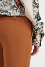 Load image into Gallery viewer, Copper wool cropped trousers