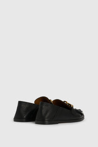 Black Mahe loafers
