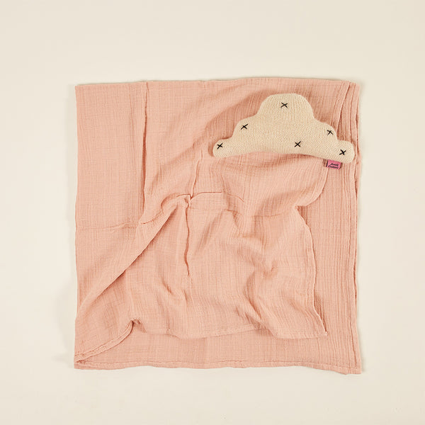 Light Blanket / Baby Muslin - Light Pink