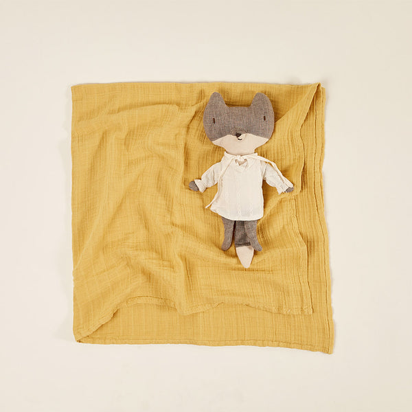 Light Blanket / Baby Muslin - Honey
