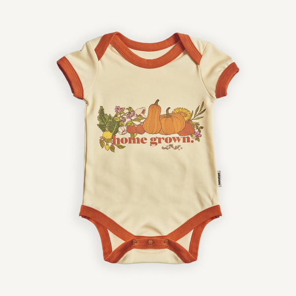 BANABAE Home Grown Organic Cotton Onesie
