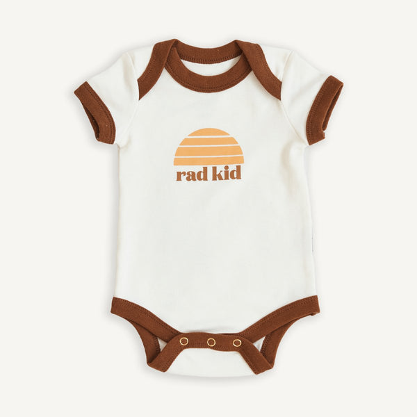 BANABAE Rad Kid Organic Cotton Onesie