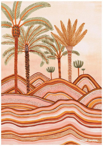 Dusty Plains Print - Karina Jambrak