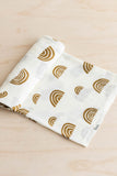 kiin. Organic Cotton + Bamboo Muslin Swaddle - Rainbow