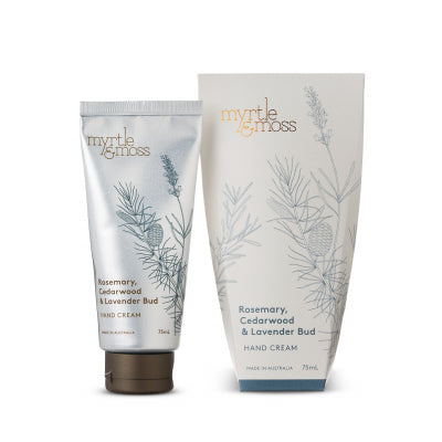 Hand Cream - Rosemary, Cedarwood & Lavender Bud