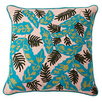Palm Leaves Cushion