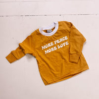 NU NATIVES More Peace More Love - Long Sleeve Tee