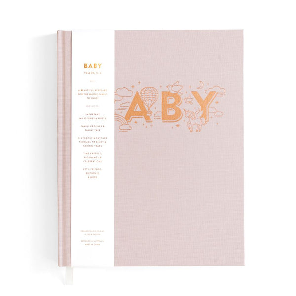 Fox & Fallow Baby Book Natural (Girls)