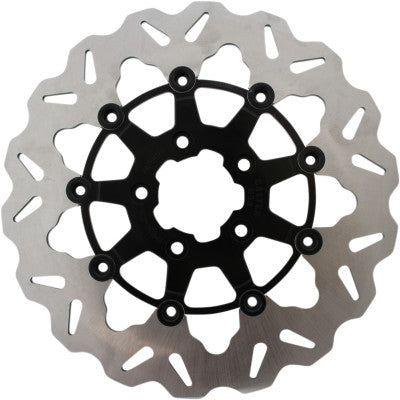 "Galfer 11.8"" Full Floating WAVE Brake Rotor - Front - 2008+ Touring - Cobalt Cycles"