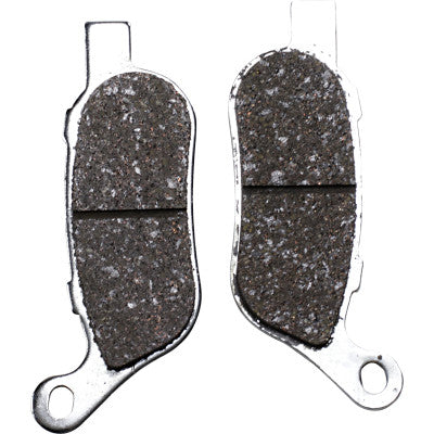 "EBC Limited Edition Chromed Semi-Sintered ""VLD"" Rear Brake Pads - 2008-2017 Softail and Dyna - Replaces OEM# 42298-08"