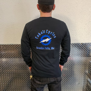 Cobalt Cycles Classic Logo Long Sleeve Shirt