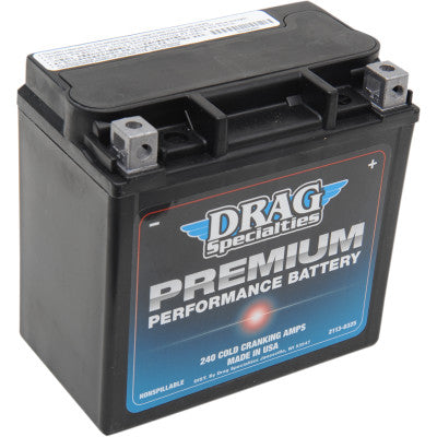 Drag Specialties Premium Performance AGM Batteries - Cobalt Cycles