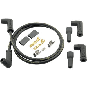 Accel 8.8 mm Universal Spark Plug Wire Kit (2) - Black