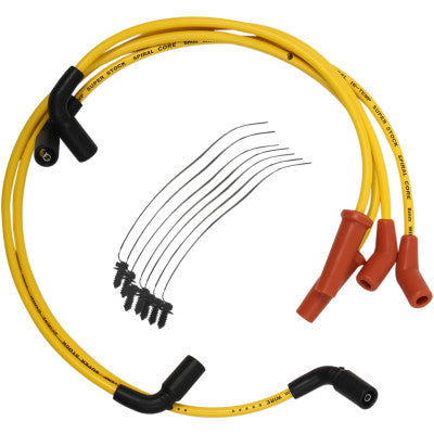 Accel 8 mm Spark Plug Wire - 2017-2020 Touring Models - Yellow
