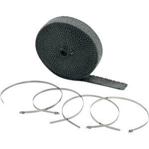 "Accel High-Temperature Exhaust Wrap Kit - Black - 1""x50'"
