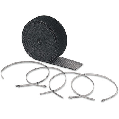 "Accel High-Temperature Exhaust Wrap Kit - Black - 2""x25'"