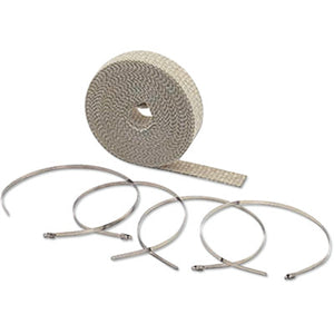 "Accel High-Temperature Exhaust Wrap Kit - Tan - 1""x50'"