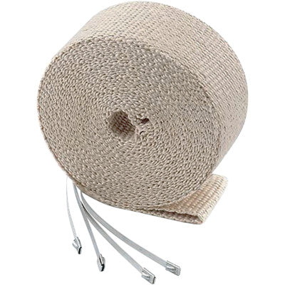 "Accel High-Temperature Exhaust Wrap Kit - Tan - 2""x25'"