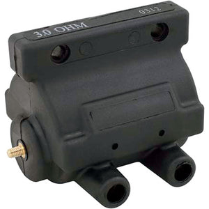 Accel Power Pulse Dual Fire Electronic Ignition Coil - 1965-1999 Big Twin & 1965-2003 Sportster Models - Black