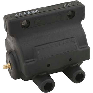 Accel Power Pulse Dual Fire Points Ignition Coil - 1965-1999 Big Twin & 1965-2003 Sportster Models - Black