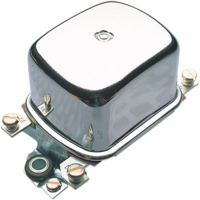Accel Voltage Regulator - 12 Volt - Chrome