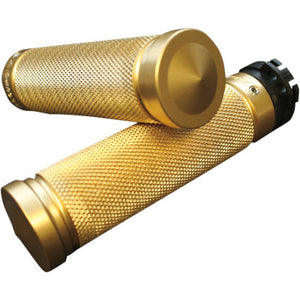 Accutronix Knurled Custom Grips for Cable - Brass