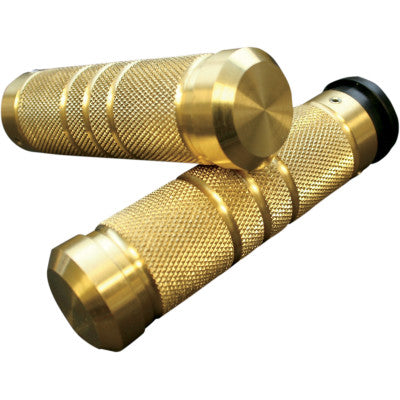 Accutronix Knurled Grooved Custom Grips for TBW - Brass