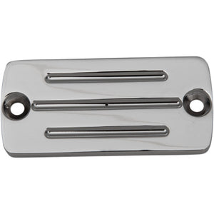Accutronix Master Cylinder Cover with Milled Lines for 1985-1995 - Chrome