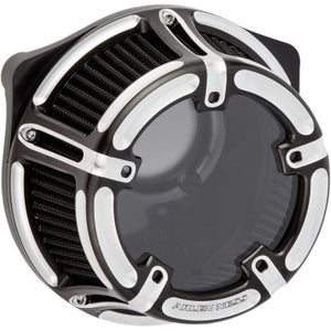 Arlen Ness Method Clear Series Air Cleaner - 2017-2020 Touring & 2018-2020 Softail Models - Black
