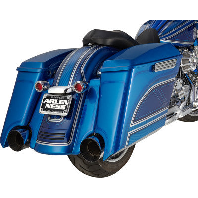 "Arlen Ness 5"" Stretched Angled Saddlebags - 2014-2020 Touring Models - Cobalt Cycles"