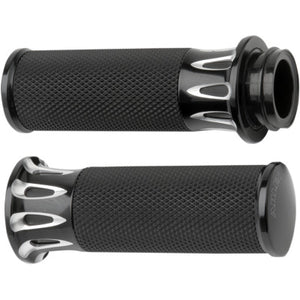 Arlen Ness Fusion Grips - Throttle by Wire - Deep Cut