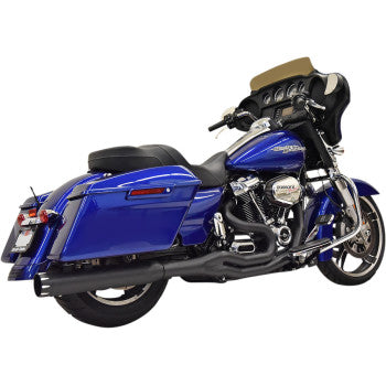 Bassani Road Rage 2:1 High Horsepower Exhaust System - M8 Softail - Black