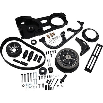 "Belt Drives Ltd. 2"" Open Belt Drive Kit - Black"
