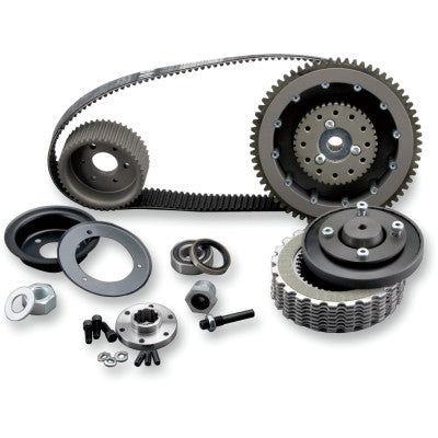 Belt Drives Ltd. 8mm Belt Drive with Quiet Clutch System - 4-Speed
