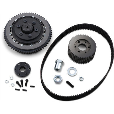 "Belt Drives Ltd. 2"" Drive Belt Kit - 1990-1998 FLHT/FLHR/FLTR - Black"