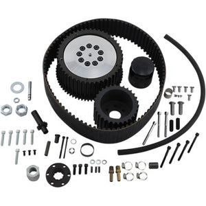 Belt Drives Ltd. Monster Top Fuel Belt Drive Kit with Clutch