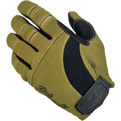 Biltwell Moto Gloves - Black/Olive