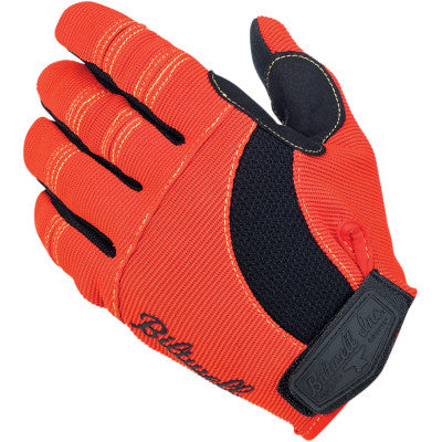 Biltwell Moto Gloves - Brown/Orange/Yellow