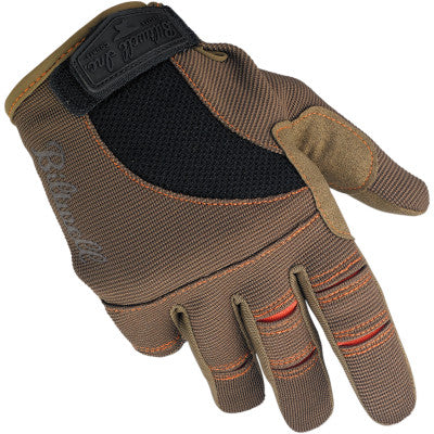 Biltwell Moto Gloves - Brown/Orange