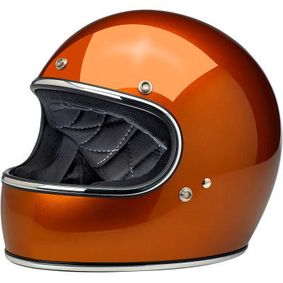Biltwell Gringo Motorcycle Helmet - Gloss Copper