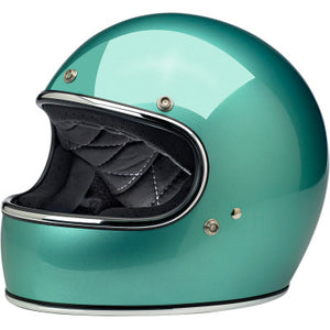 Biltwell Gringo Motorcycle Helmet - Gloss Sea Foam