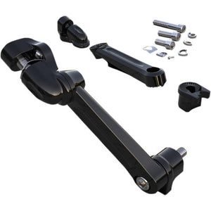 Ciro Adjustable Passenger Peg Mounts - Black