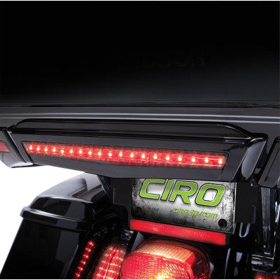 Ciro Center Brake Light for Tour-Pak - Black