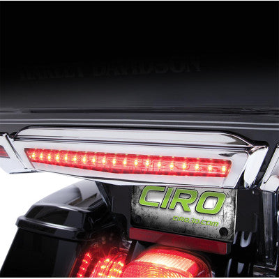 Ciro Center Brake Light for Tour-Pak - Chrome