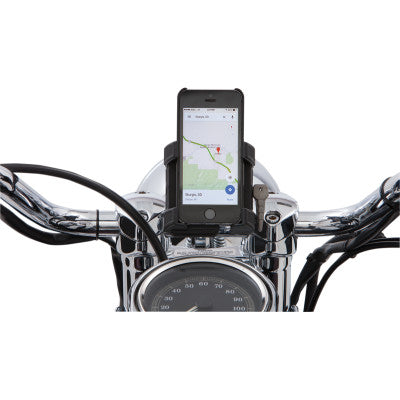 "Ciro Smartphone/GPS Holder 1-1/4"" Perch Mount - Black"